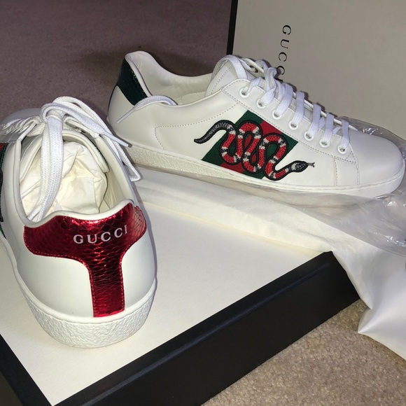 gucci shoes with snakes